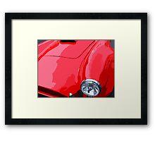 Red Cobra Framed Print