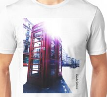 london in love telephone Unisex T-Shirt