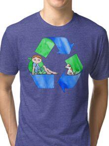 Boys Love the Planet, Too Tri-blend T-Shirt