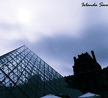 louvre paris by lovenaturenow
