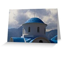 GREEK ROADSIDE CHAPEL..! Greeting Card