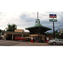 Frank Lloyd Wright Gas station Photographic Print