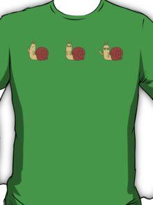 Adventure Time Snail - Possessed Progression T-Shirt