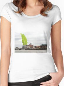 The Chard Women's Fitted Scoop T-Shirt