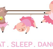 EAT. SLEEP. DANCE by Peevelmouse