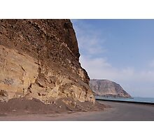 Cliffsides in Lima Photographic Print