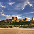 Bamburgh Castle by Brian Kerr