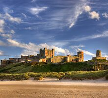 Bamburgh Castle by Brian Kerr