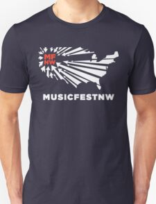 MFNW musicfestnw music festival  Unisex T-Shirt