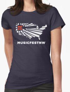 MFNW musicfestnw music festival  Womens Fitted T-Shirt