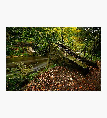 Swing Bridge Photographic Print
