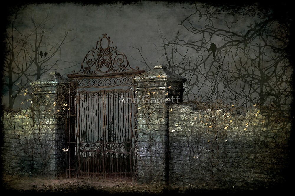 Ghostly Gate by Ann Garrett