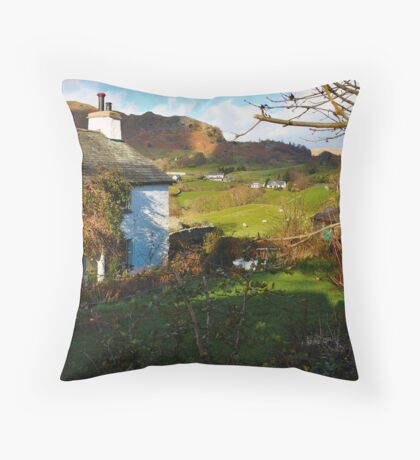 Views From Stang End Throw Pillow