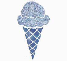 Blue Icecream  Kids Tee