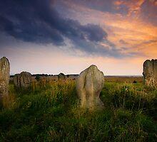 Duddo Stone Circle by Brian Kerr