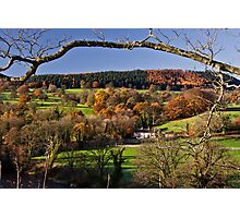 Withgill early one autumn morn' Photographic Print