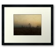 Goodnight on the Prairie Framed Print