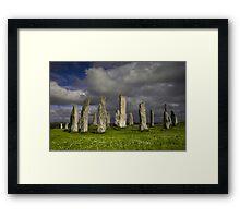 Callanish Stone Circle Framed Print