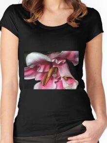 When The Rumba Rhythmn Starts To Play.... Women's Fitted Scoop T-Shirt