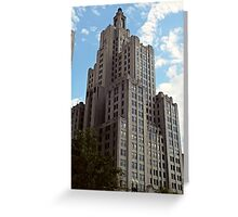 Industrial Trust Building, Providence, Rhode Island Greeting Card