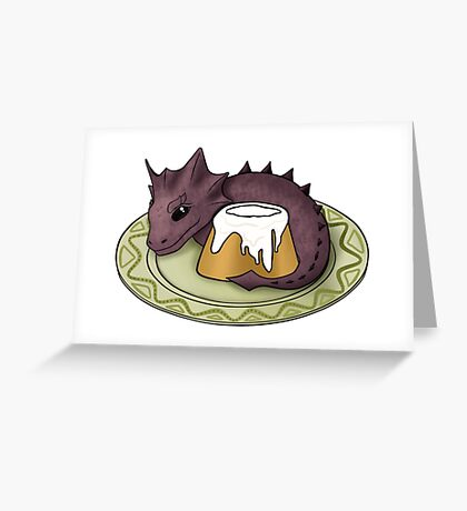 Elder Scrolls Guardian of the Sweetroll Greeting Card