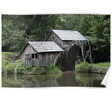 Mabry Mill - Blue Ridge Mountains Poster
