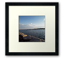 Bristol Harbor, Rhode Island Framed Print