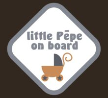 Little pepe on board (kiwi name for baby in Maori language) by jazzydevil