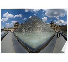 Louvre Art Gallery Paris Poster