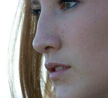 Reflective look - girl by NancyBrigham