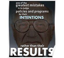 Capitalism Free Markets Milton Friedman Libertarian Poster