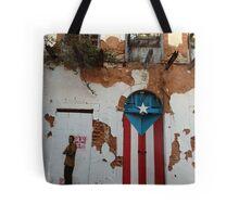 Old San Juan door Tote Bag