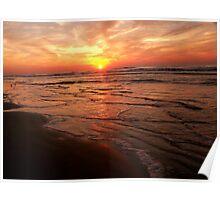 Isle of Palms Sunrise  Poster