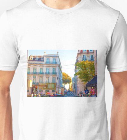 Largo do Chiado. Unisex T-Shirt