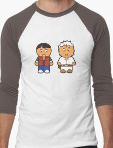 Marti and Doc Brown Men's Baseball ¾ T-Shirt