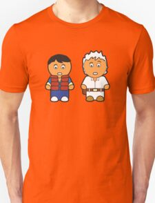Marti and Doc Brown Unisex T-Shirt