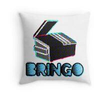 BRINGO! Dumpster Edition Dr. Steve Brule Design by SmashBam Throw Pillow