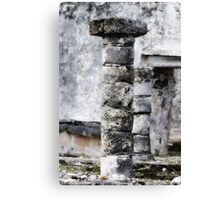 Ancient Piller Canvas Print