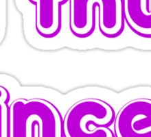 lil thug princess Sticker