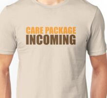 CARE PACKAGE incoming Unisex T-Shirt