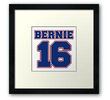 Team Bernie 16 2016 election  Framed Print