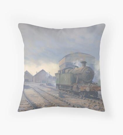 Aberdare Engine Sheds Throw Pillow