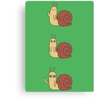 Adventure Time Snail - Small Set Vertical Canvas Print