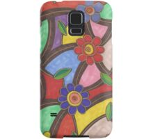 Flower Pattern Samsung Galaxy Case/Skin