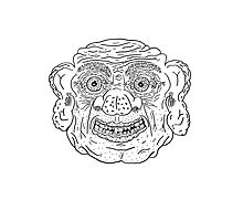 Troll Caricature Photographic Print