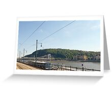 River Danube - Budapest  Greeting Card