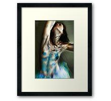 Erase All Doubt... Framed Print