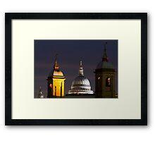 St pauls Dome Framed Print