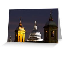 St pauls Dome Greeting Card