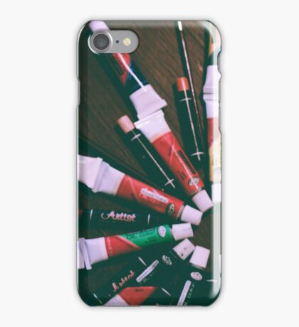 art - paints iPhone Case/Skin